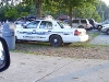 on-scene police car at AHS