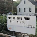 Big Worship Sign