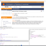 uva-cal script